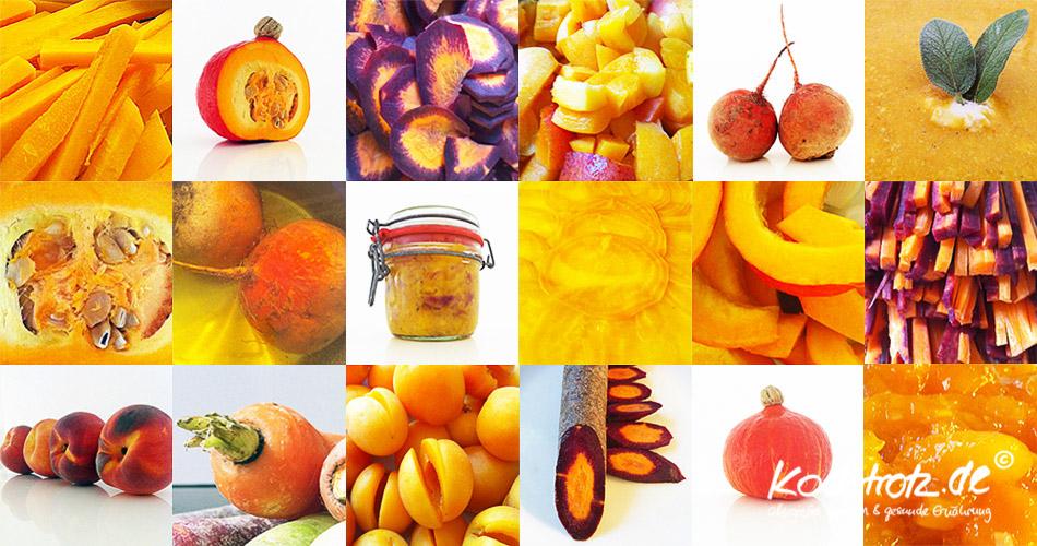 Alles auf Orange