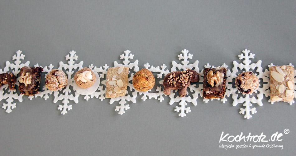 Vollwert-Weihnachtsplätzchen
