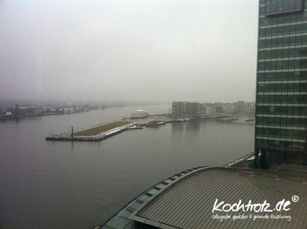 Blick aus der 9. Etage, Mövenpick Hotel Amsterdam