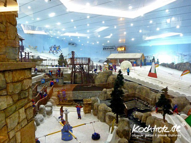 Skihalle in The Dubai Mall, Dubai