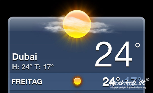 Wetter Dubai 16 Tage