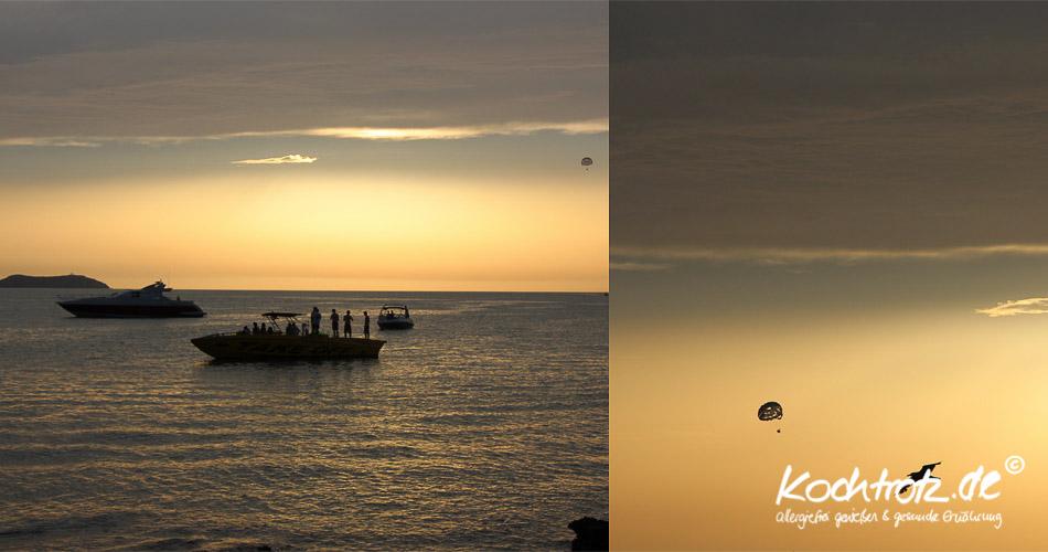 Sonnenuntergang Café del Mar, Ibiza