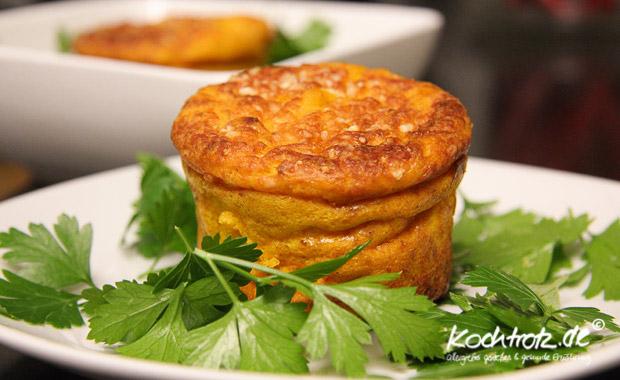 Kürbis-Quark-Muffins