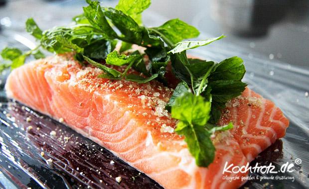 Lachs Bei 60 Grad In Folie Gegart Kochtrotz Foodblog Genuss