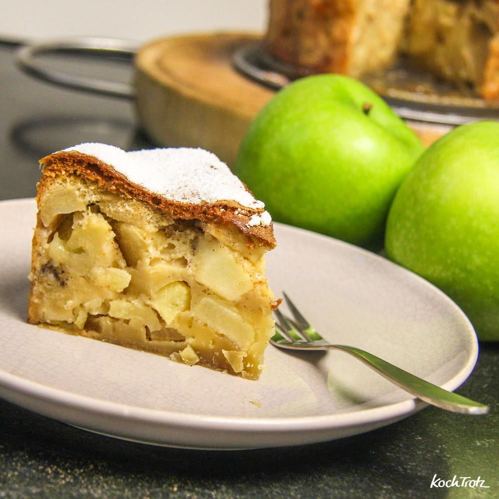 Apfel-Scharlotka | glutenfrei | laktosefrei