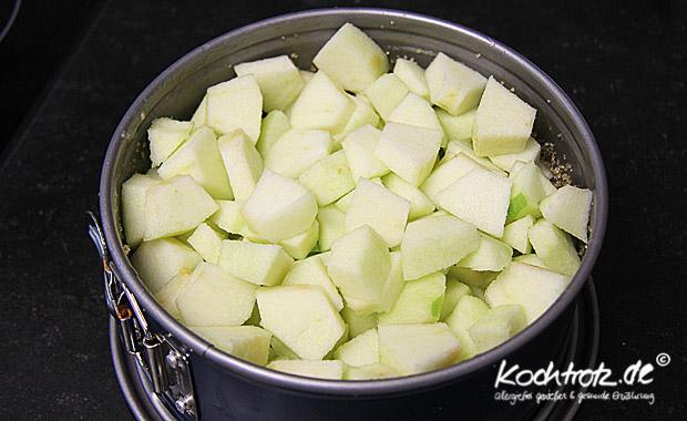Apfel Scharlotka - russischer Apfelkuchen