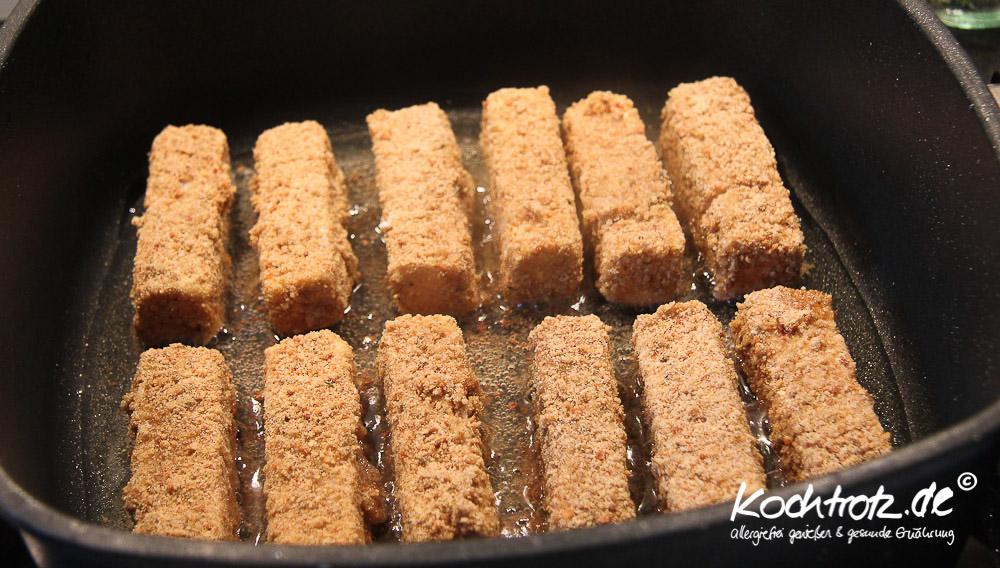 Fischstäbchen selbst gemacht, glutenfrei