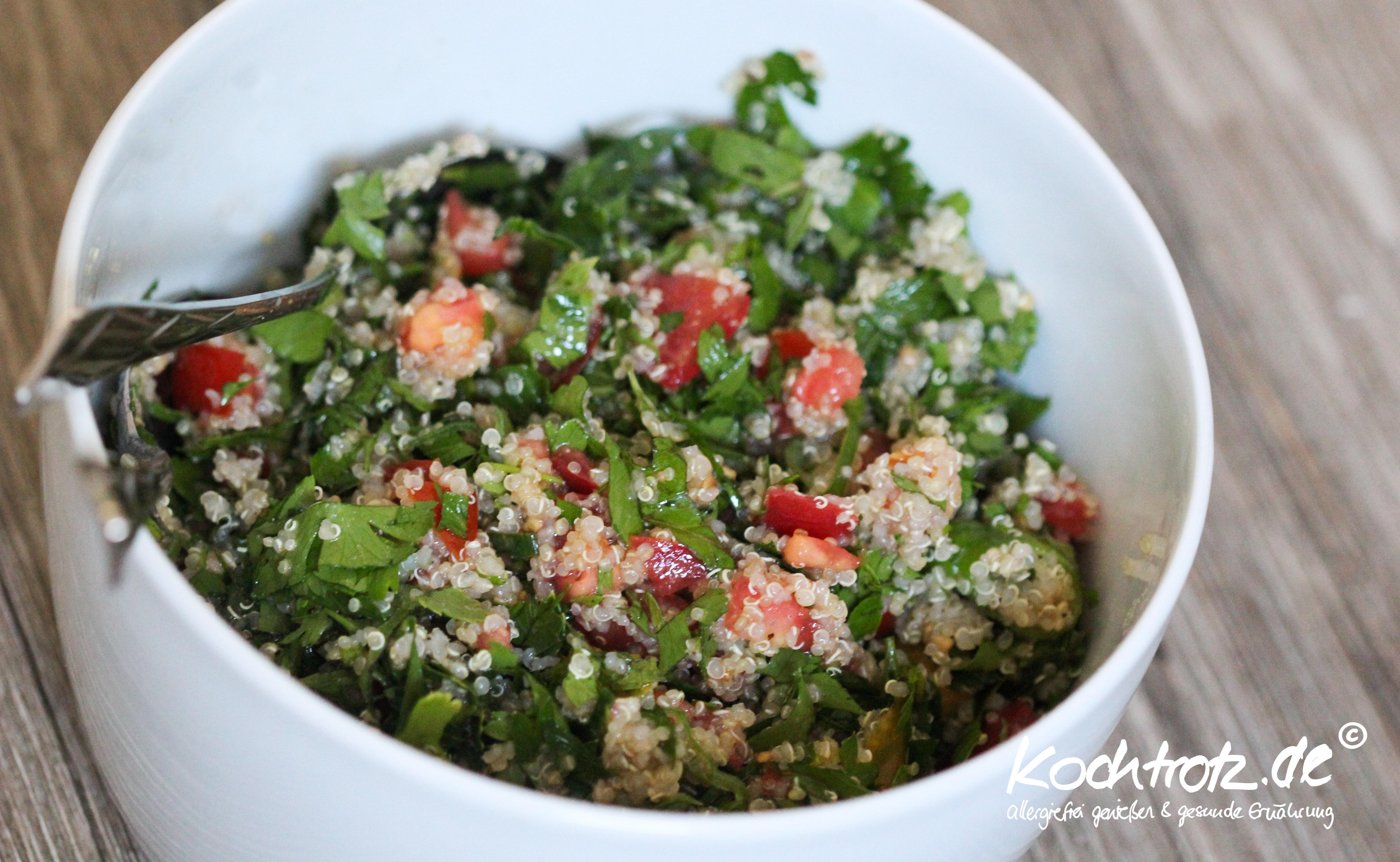 tabouleh salat mit quinoa kochtrotz style kochtrotz foodblog reiseblog genuss trotz. Black Bedroom Furniture Sets. Home Design Ideas