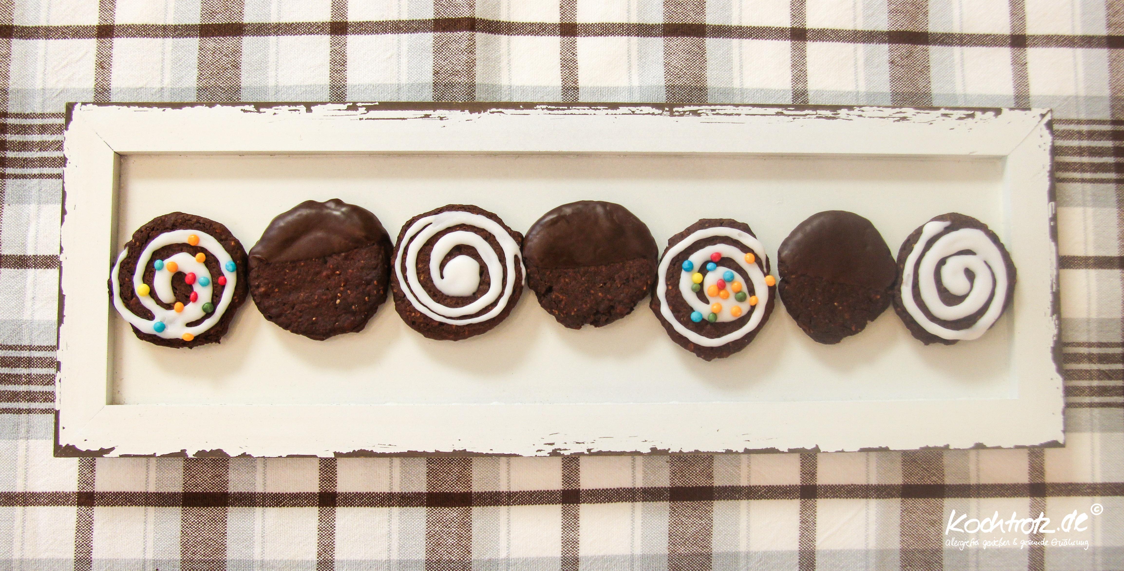 Chocolate Black Bean Cookies Glutenfrei Vegan Kekse Aus