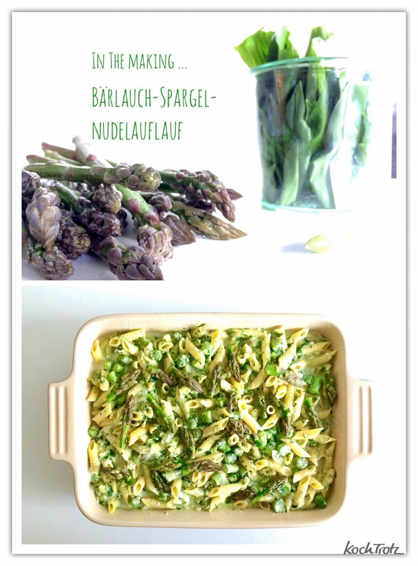 Bärlauch-Spargel-Nudelauflauf | easy peasy und super lecker :)