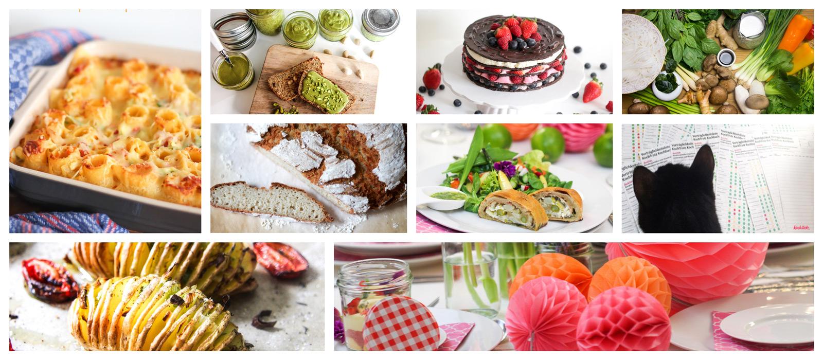 Anmeldung KochTrotz Newsletter und Verträglichkeitsliste