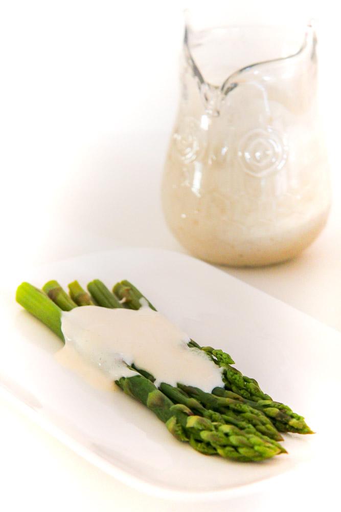 Sauce Hollandaise | Blitz-Hollandaise | Ein sehr einfaches und verträgliches Rezept, histaminarm und optional vegan. Perfekt!