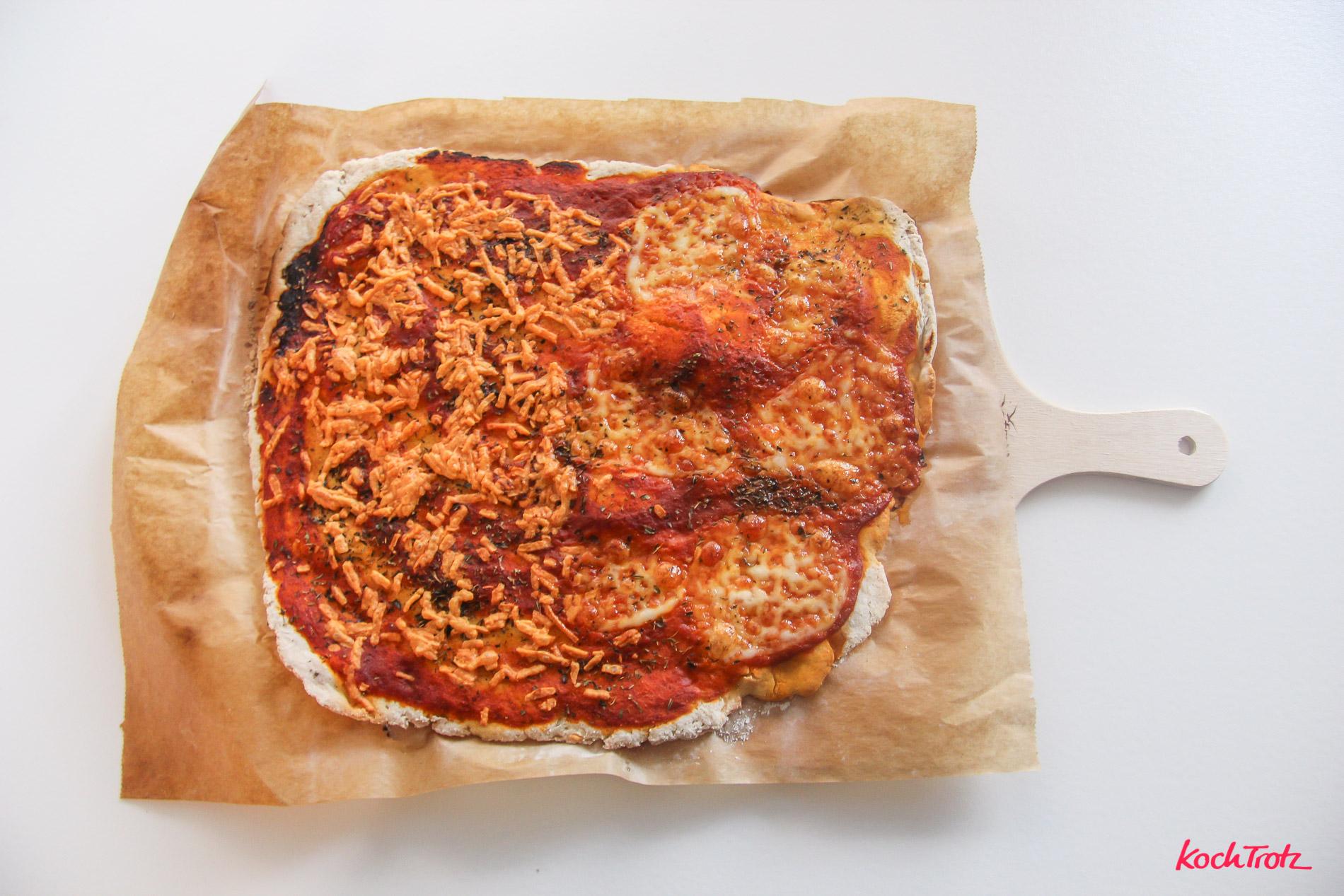 Glutenfreier Pizzateig Mit Hefe Und Hefefreier Variante Ohne
