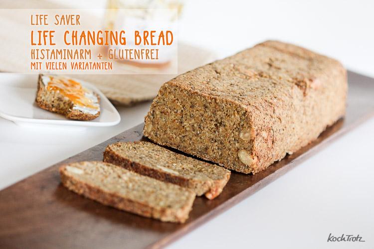 Life Changing Bread | histaminarm | glutenfrei
