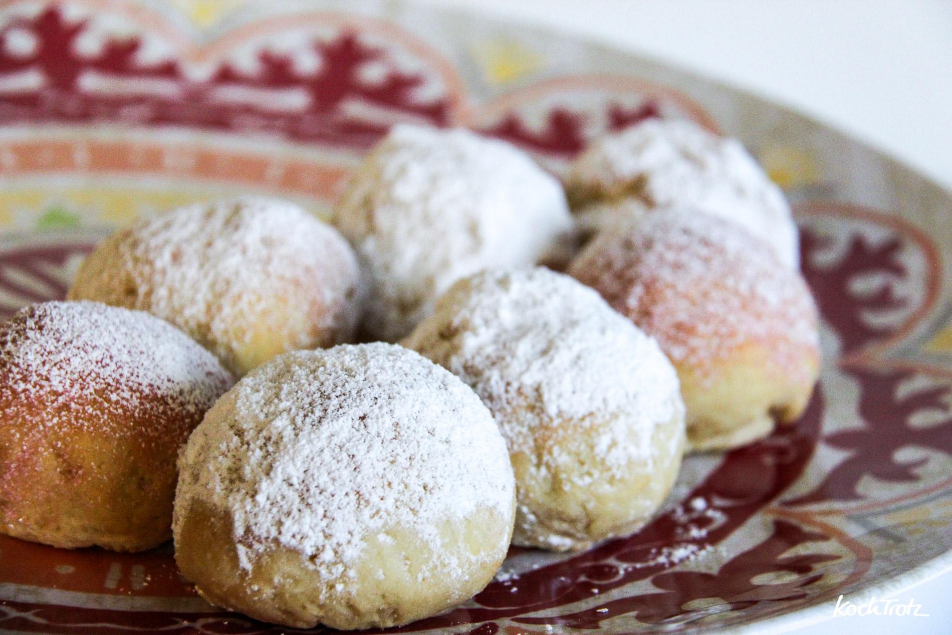 Glutenfreie Gefüllte Ofenberliner Krapfen Berliner Pfannkuchen