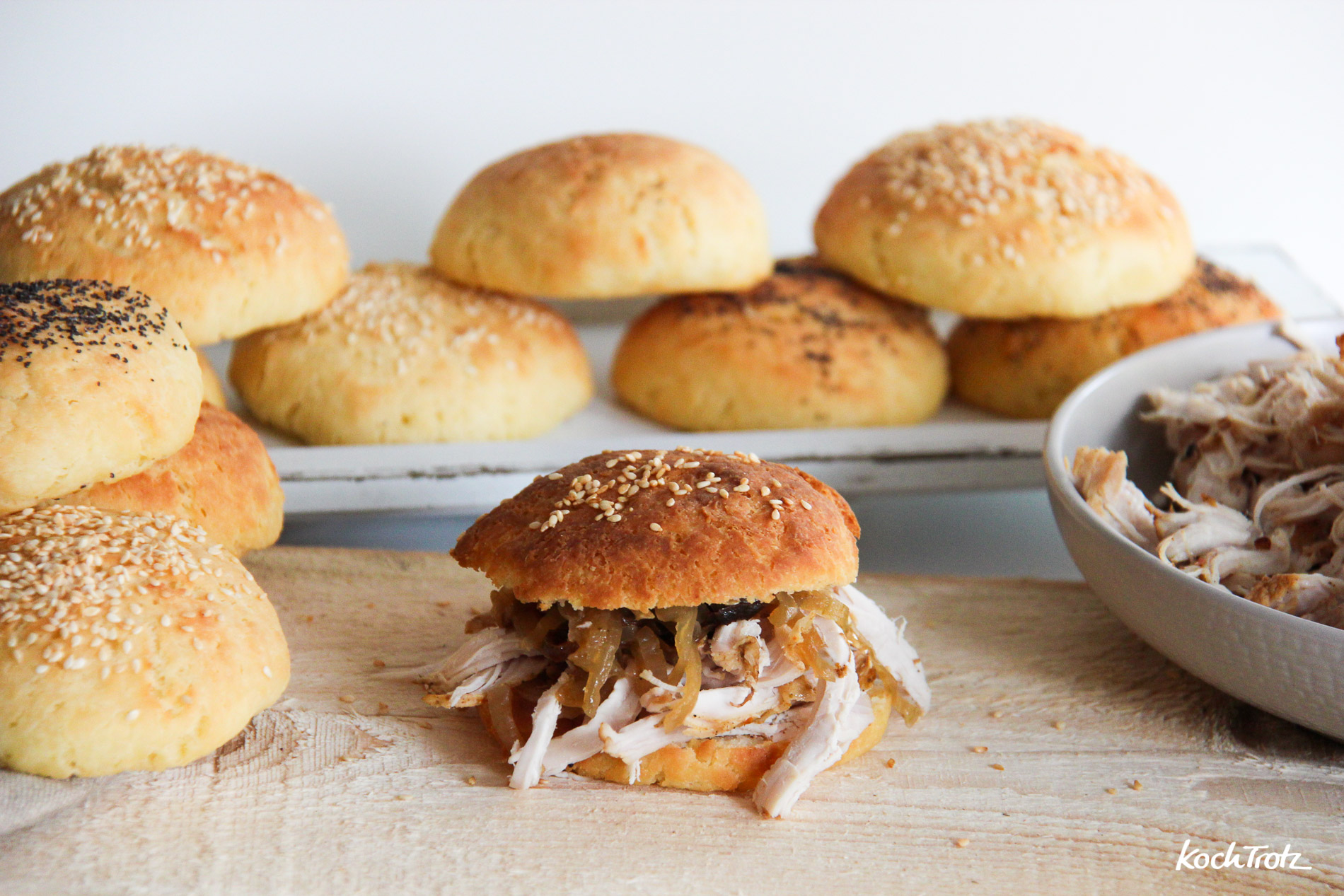 Pulled-Turkey-Burger-glutenfrei-eifrei-laktosefrei-3
