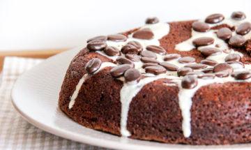 Campingkuchen Oder Auch Pfannenkuchen Genannt Marmorkuchen Auf Dem