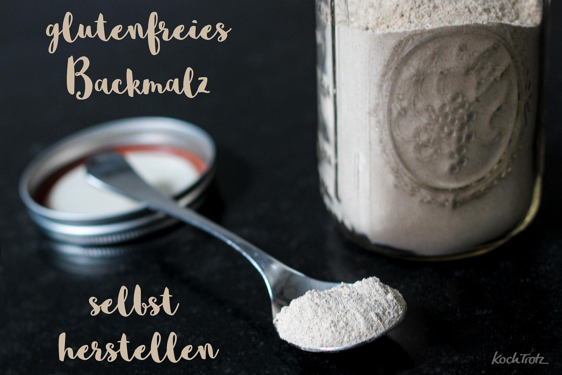 Für bessere glutenfreie Brote – glutenfreies Backmalz selbst herstellen – aktives oder inaktives glutenfreies Backmalz