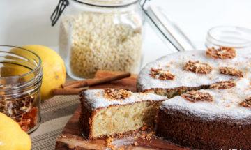 Gato die Almendra - Mallorquinischer Mandelkuchen - ohne Mehl