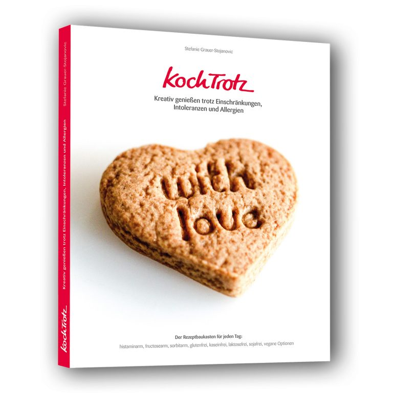 """KochTrotz Kochbuch Band 1 - """"with love"""""""