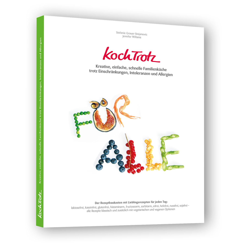 """Buchvorschau KochTrotz Kochbuch Band 2 """"FÜR ALLE"""" – Blick ins Buch"""