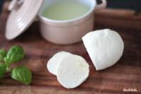 selbst gemachter Käse in 15 Minuten | ohne Lab | auch laktosefrei | Mozarella | Frischkäse