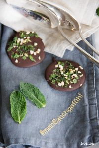 Kiwi-Minze Eisbecher mit Schoko-Chip | Sommerfeeling | aktosefreier Eisgenuss mit Cremissimo