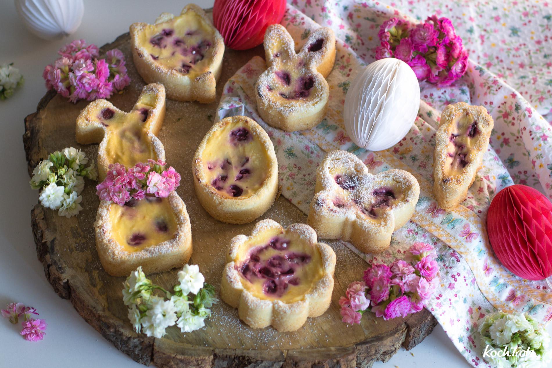 Cheesecake Ostergebäck mit softem Mürbeteig | glutenfrei | laktosefrei | frei von so ziemlich allem …