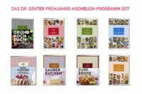 Dr. Oetker Frühjahrs-Kochbuch-Programm 2017 | KochTrotz Rezension