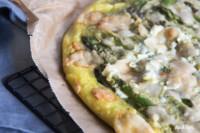 Flampi | eine Mischung aus Flammkuchen und dicker Pizza | eifrei | hefefrei | glutenfrei | optional vegan | KochTrotz