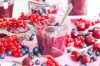 Cherry Berry Curd - Kirsch-Johannisbeeren-Creme