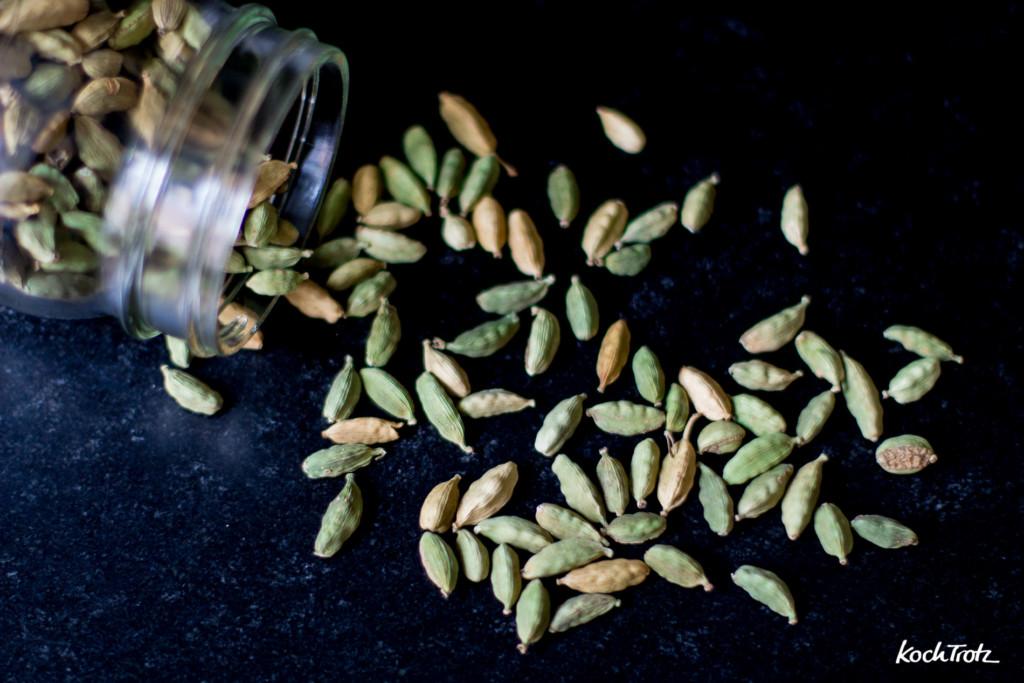 Grüner Kardamom - natürliche Magentablette