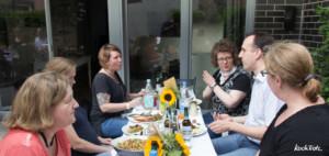 Grillparty mit Pionier glutenfreies Pilsener