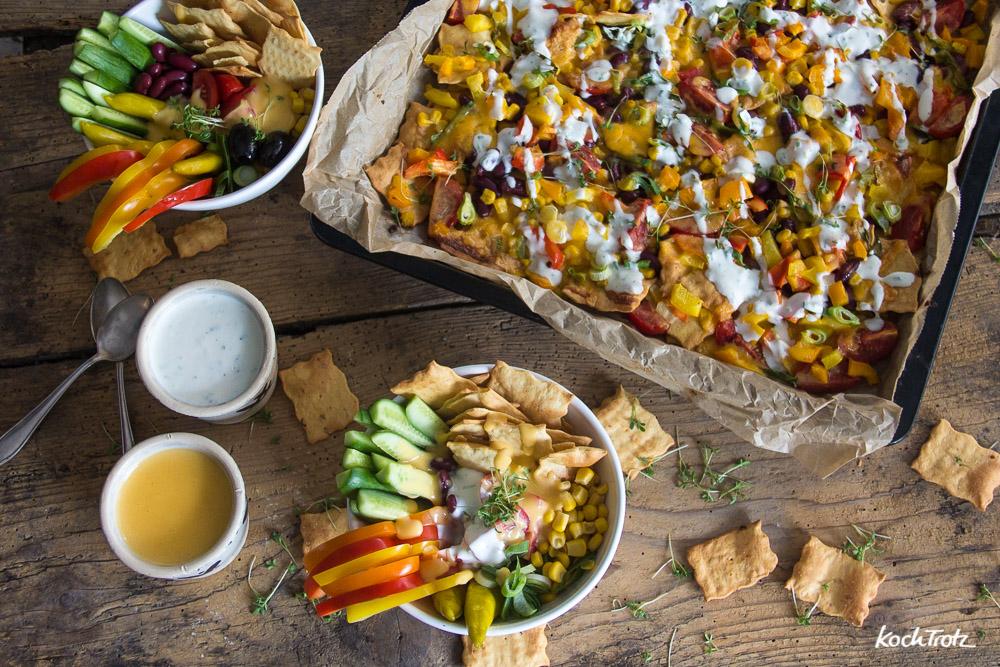 Snack Attack mit Hummus Crisps | gesunde Bowls und überbackene Crisps