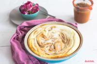 low-carb Cheesecake-Auflauf | kalorienarm | zuckerfrei | fettfrei