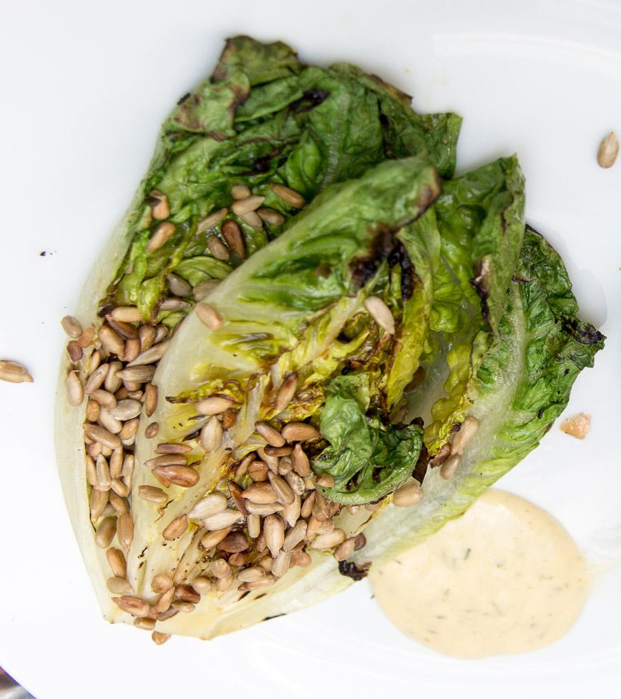 Gegrillter Salat | Mini-Romana gegrillt