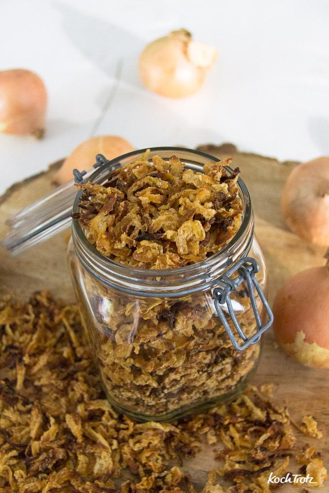 super knusprige glutenfreie Röstzwiebeln | einfach zu machen