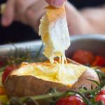 Gebackene und gefüllte Süßkartoffeln mit Ofengemüse | unglaublich lecker