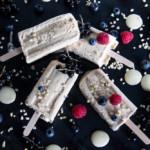 White Chocolate Popsicles - Eis am Stiel mit weißer Schokolade