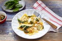 selbstgemachte Ravioli mit Spinat-Käse-Füllung | glutenfrei | laktosefrei