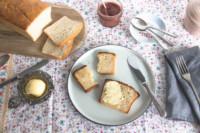 Butter-Toastbrot | glutenfrei | laktosefrei | eifrei | einfaches Rezept
