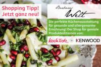 Neu! KochTrotz-Shop mit KENWOOD-Editionen auf Barbaras Welt