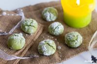 Matcha Crinkles | einfach zu machen | glutenfrei | laktosefrei | histaminarm