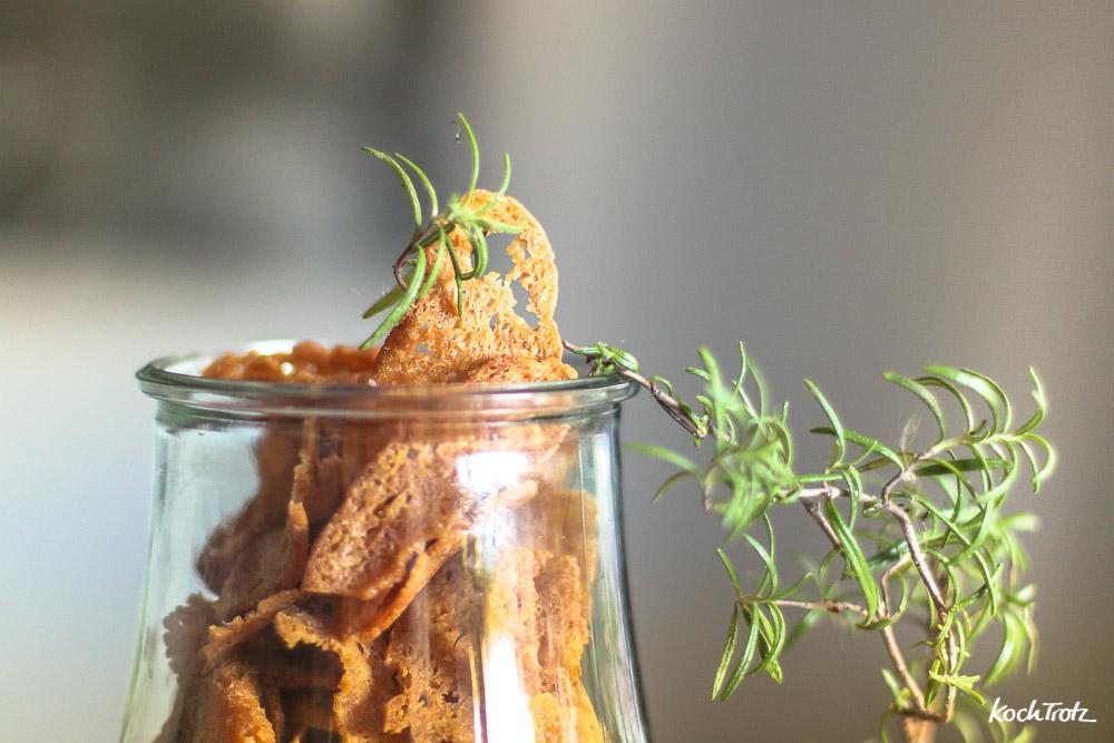 Brotchips selber machen | auch glutenfrei