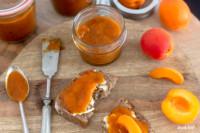 Gebackene Marmelade mit 2 Zutaten nur 5% Zucker