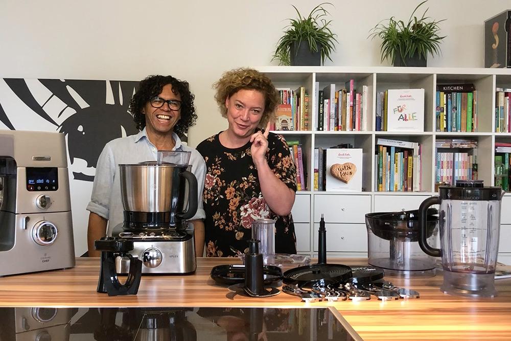 Die neue kFLEX Kompakt-Küchenmaschine von Kenwood