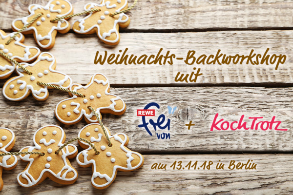 Weihnachts-Backworkshop