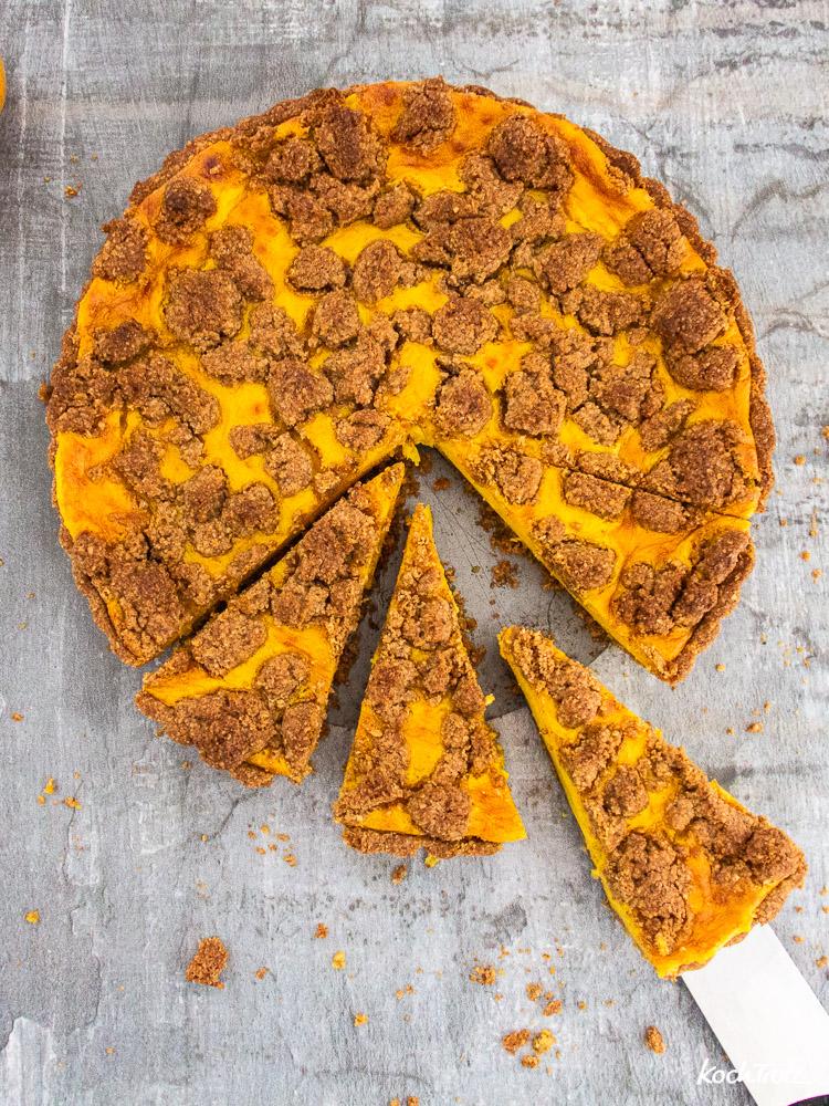 Mango-Pudding Streuselkuchen | glutenfrei | ohne Fertigmehlmischung | auch vegan