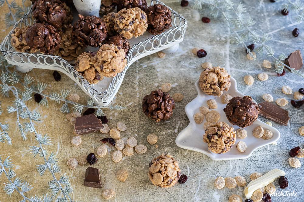 Glutenfreie Quinoa Crunch Balls