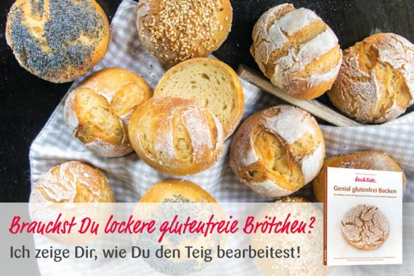"KochTrotz Backbuch ""Genial glutenfrei Backen""   Video   Glutenfreie Brötchen formen"